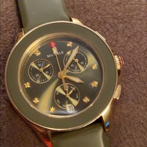 Michele watch cape chronograph style...